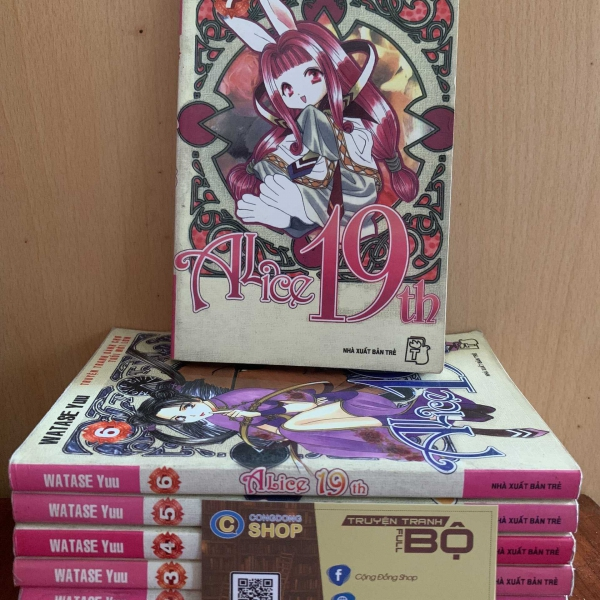 Truyện tranh Alice 19th Trọn bộ 7 tập Giá rẻ