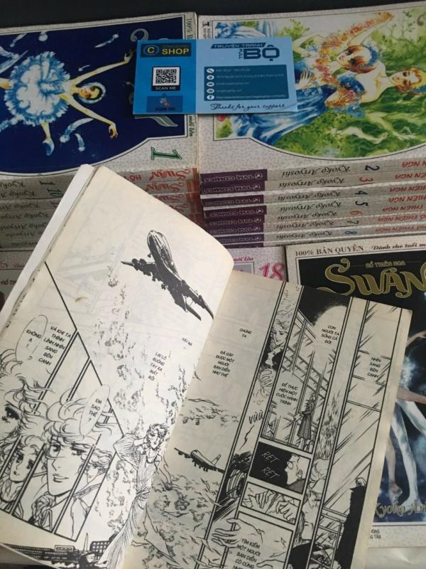 Truyện Swan Hồ Thiên Nga Full bộ Giá rẻ