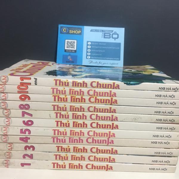 Truyện Thủ lĩnh Chunja Full bộ giá rẻ