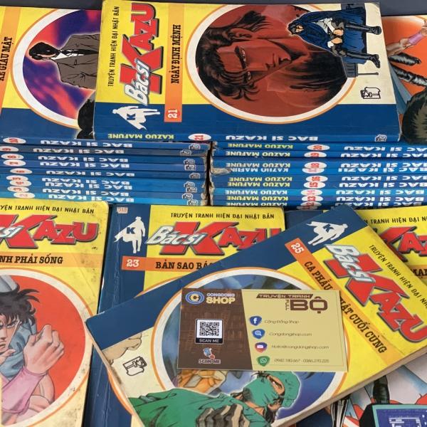 Truyện Bác Sĩ Kazu 25 Tập Full bộ giá rẻ