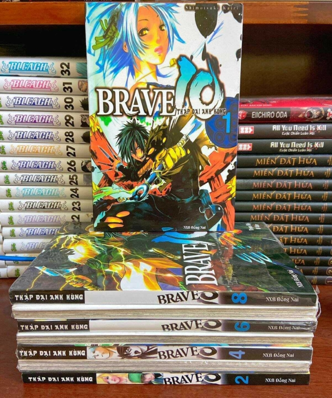 Truyện Brave 10 Full bộ giá rẻ