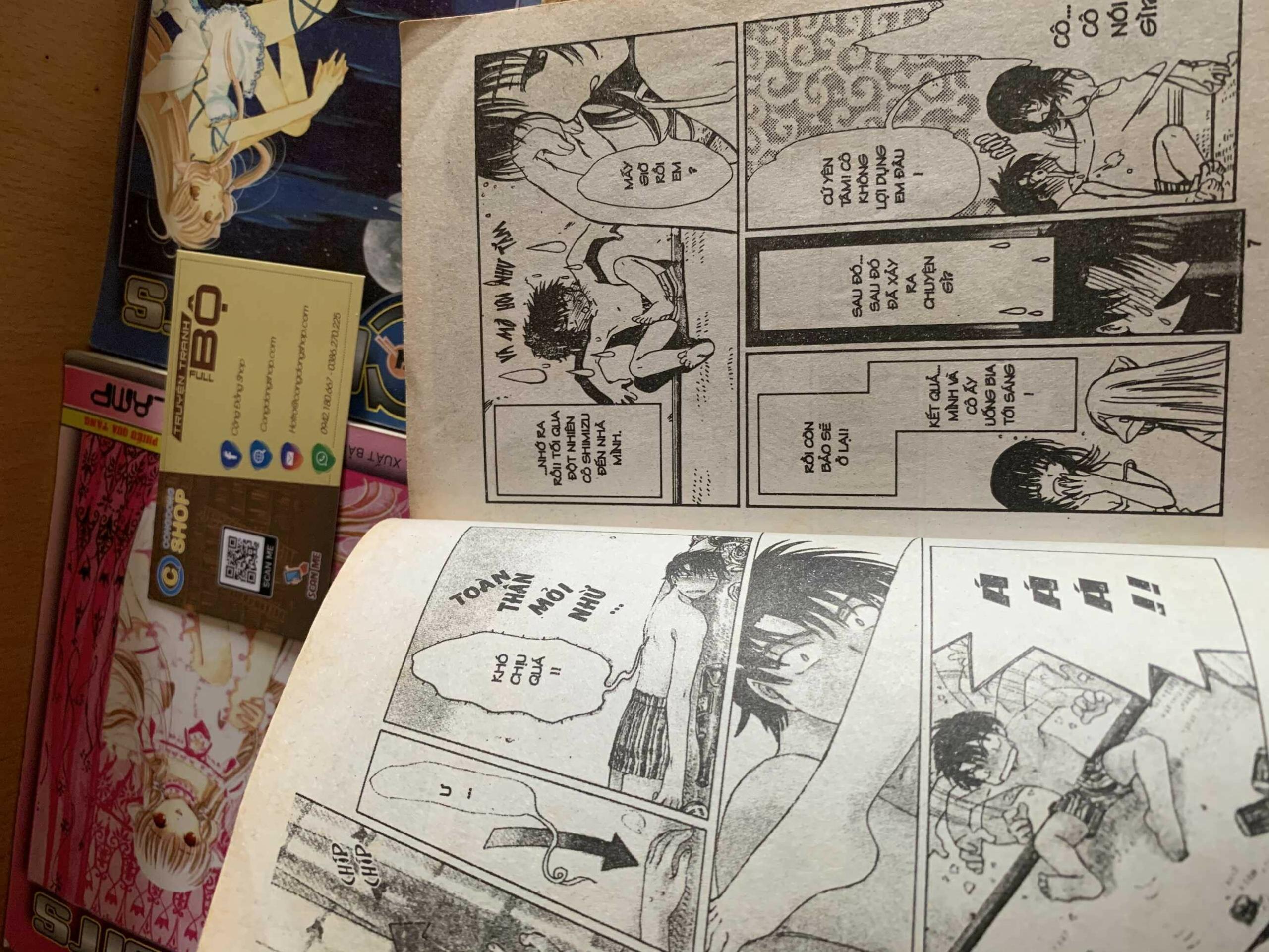 Truyện Chobits 8 Tập Full bộ giá rẻ | Congdongshop mua bán truyện đủ bộ