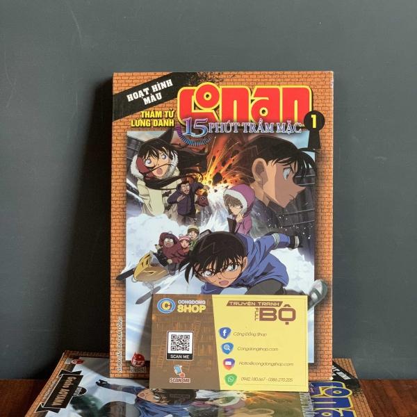 Truyện Conan 15 Phút Trầm Mặc Full bộ giá rẻ