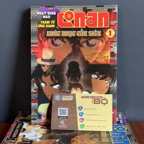 Truyện Conan Khúc Nhạc Cầu Siêu Full bộ giá rẻTruyện Conan Khúc Nhạc Cầu Siêu Full bộ giá rẻ
