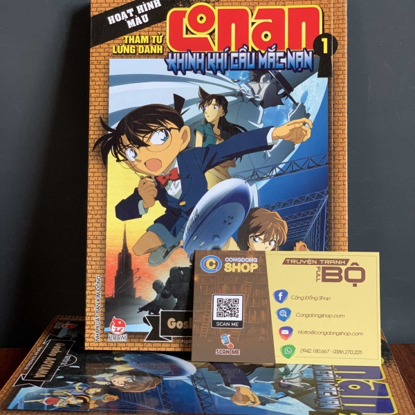 Truyện Conan Khinh Khí Cầu Mắc Cạn Full bộ giá rẻ