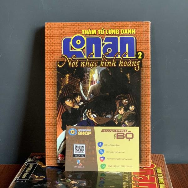 Truyện Conan Nốt Nhạc Kinh Hoàng Full bộ giá rẻ