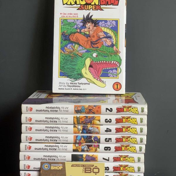 Truyện Dragon Ball Super Full bộ giá rẻ