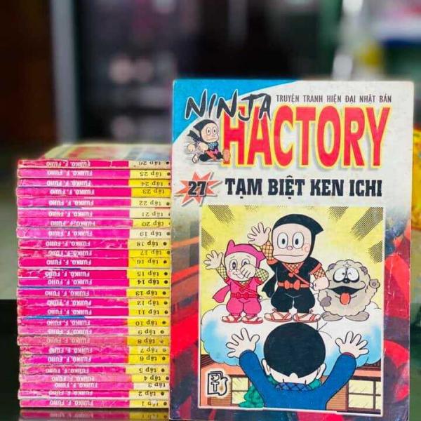 Truyện Ninja Hactory Full bộ giá rẻ