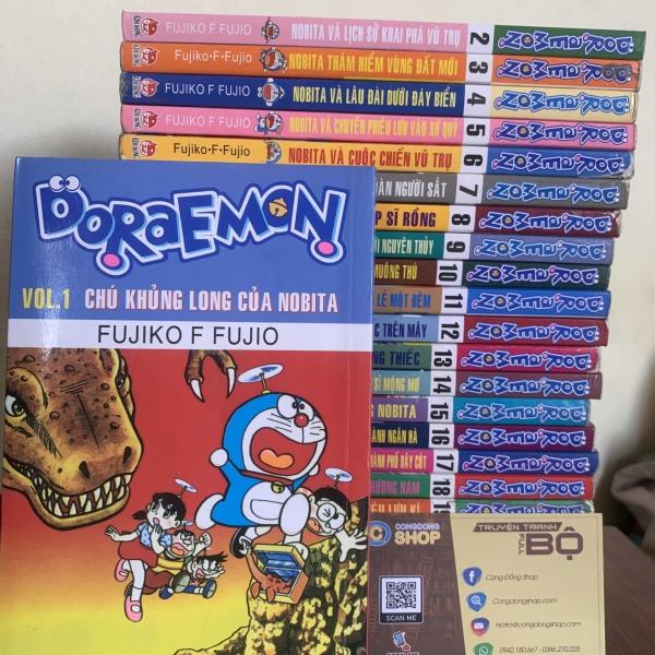 Truyện Doraemon Truyện Dài 24 Tập Full bộ giá rẻ