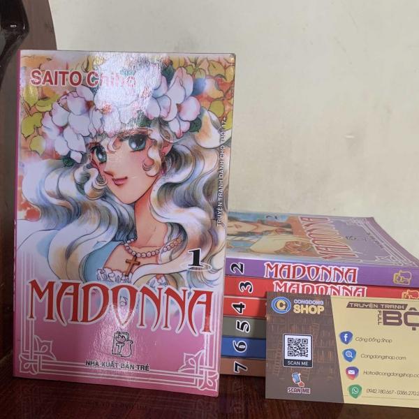 Trọn bộ Truyện Madonna 7 Tập Giá rẻ