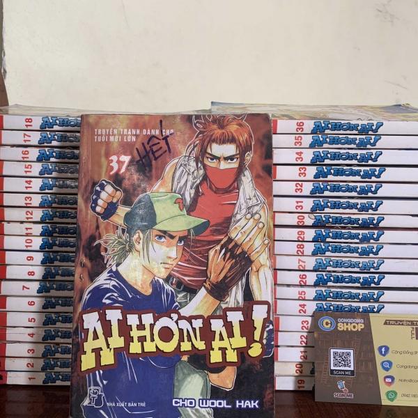 Truyện Ai Hơn Ai 37 Tập Full bộ giá rẻ