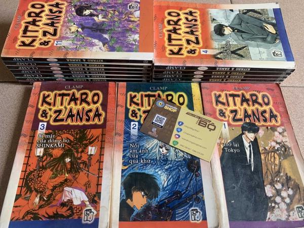 Truyện Tranh Kitaro Zansa Full bộ giá rẻ