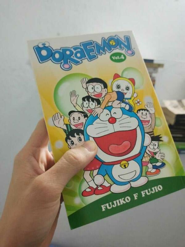 Truyện Doraemon Tiếng Anh trọn bộ giá rẻ