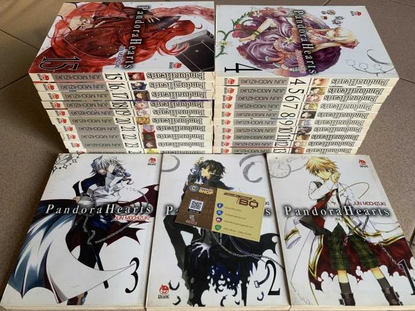Truyện Pandora Heart Full bộ giá rẻ