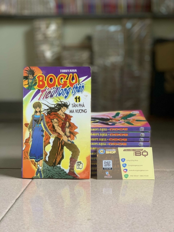 Truyện Bogu Tiểu Long Thần Full bộ giá rẻ