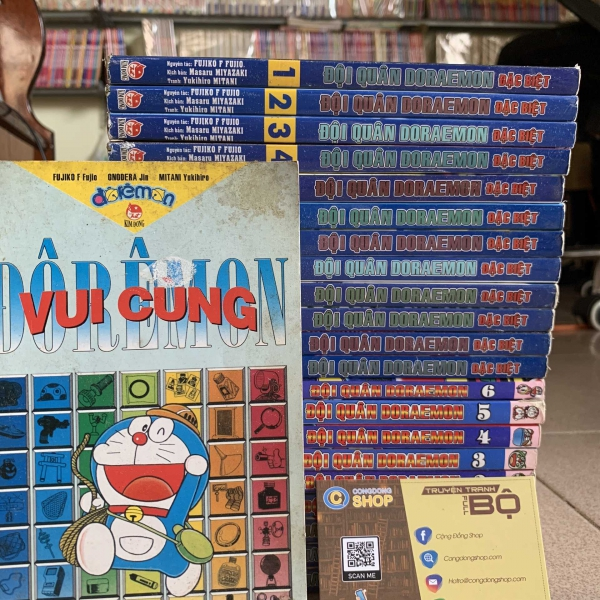 Truyện Đội Quân Doraemon Tái bản Full bộ