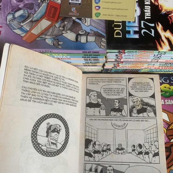 Truyện Dũng Sĩ Hesman 30 tập giá rẻ