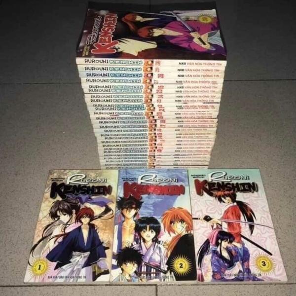 Truyện Rurouni Kenshin 30 Tập Full bộ giá rẻ