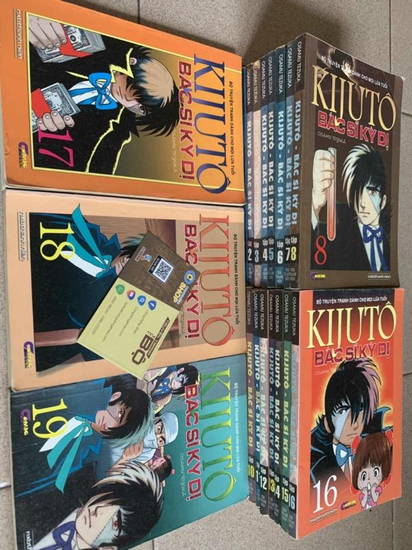 Truyện Kijuto Bác Sĩ Kỳ Dị Full bộ giá rẻ