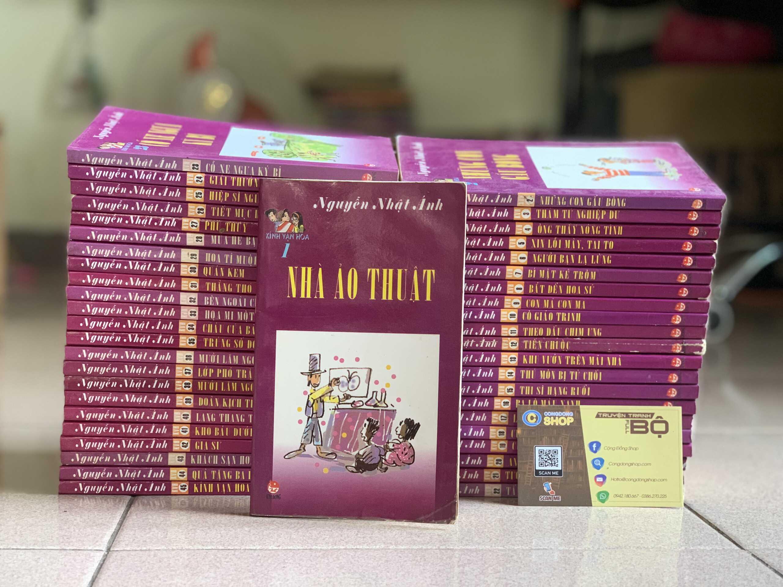 Truyện Kính Vạn Hoa Nguyễn Nhật Ánh Giá rẻ