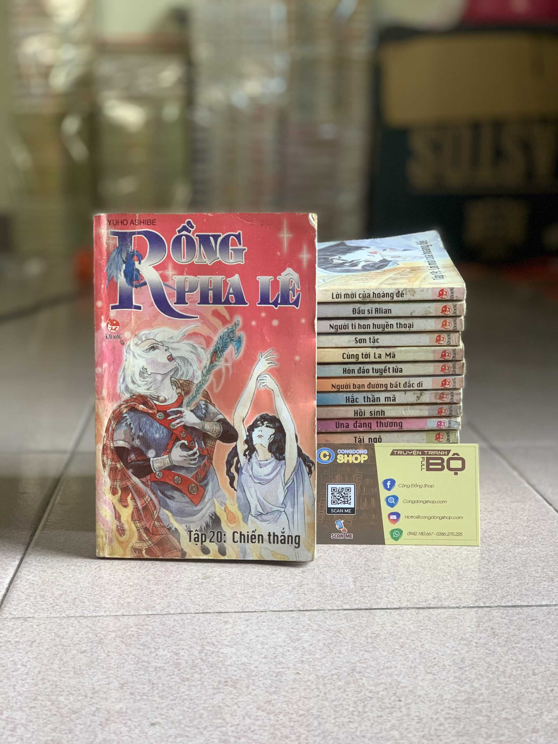 Truyện Rồng Pha Lê Full bộ giá rẻ
