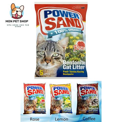 Cát Vệ Sinh cho mèo Power Sand Bentonite Cat Litter