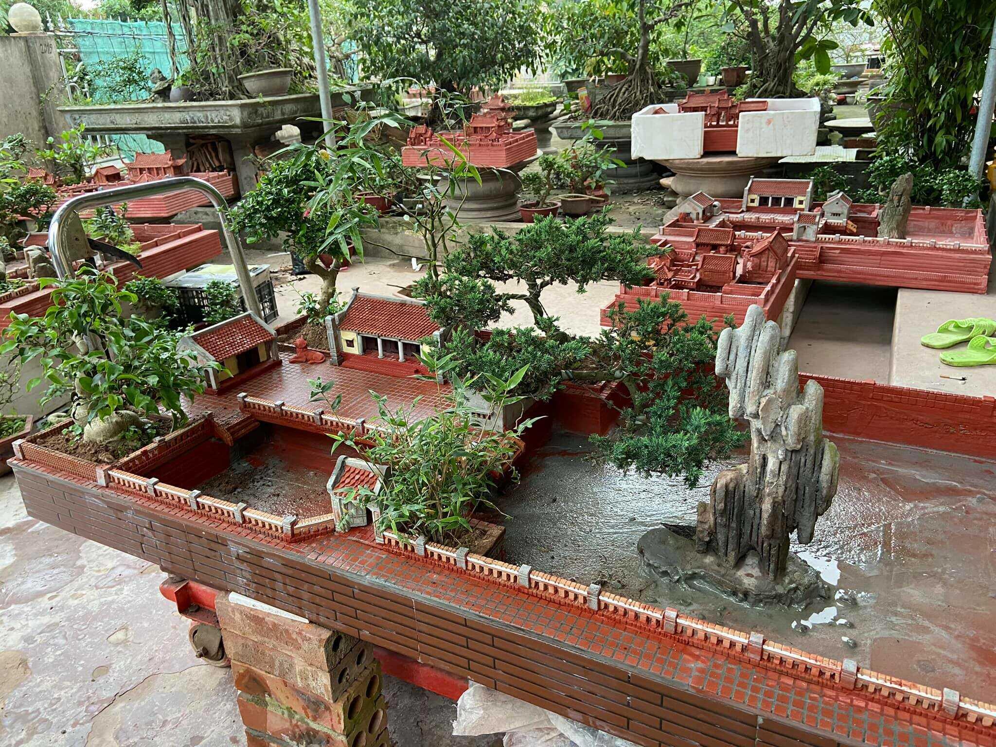 Mô hình Nhà cổ Hà Nội trang trí nhà cửa
