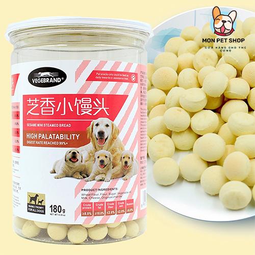 Bánh Thưởng Bổ Sung Canxi Cho Chó Sesame 180g