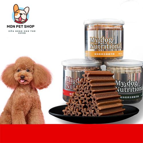 Bánh thưởng cho chó My dog Nutrition hộp 20 cây