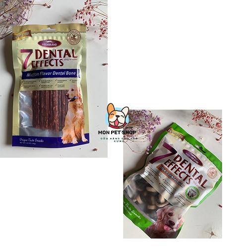 Bánh thưởng cho chó gặm thơm miệng 7 Dental Effects