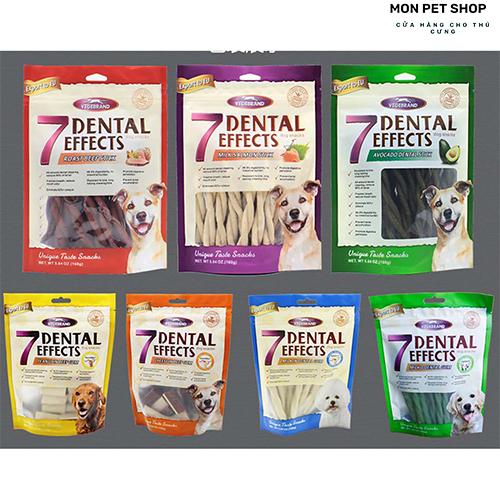 Bánh thưởng gặm sạch răng 7 Dental Effects 160g