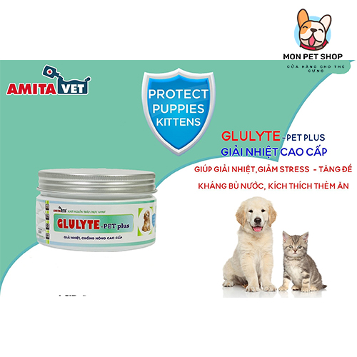 Bột Giải Nhiệt Chống Nóng Chó Mèo Glulyte Plus