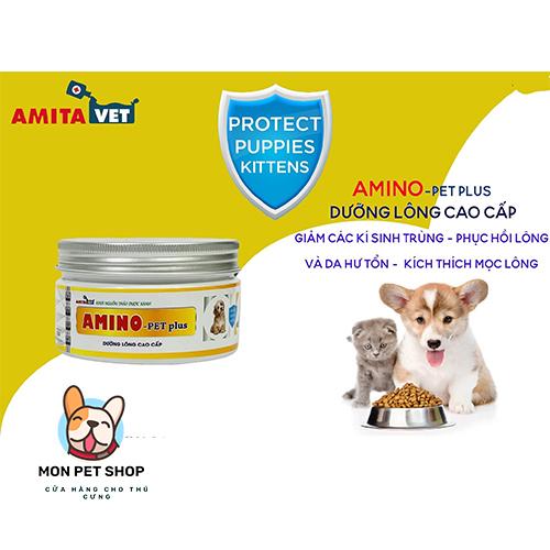 Dưỡng Lông Cao Cấp Cho Chó Mèo Amino Pet Plus