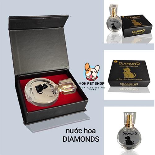 Nước Hoa Diamond Cho Chó Mèo Thơm Lâu 30ml