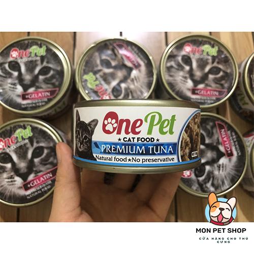 Pate Dinh Dưỡng Cho Mèo One Pet 150Gram
