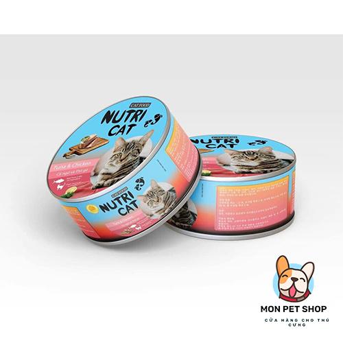Pate Nutri Cat Dinh Dưỡng Cho Mèo Dạng Lon
