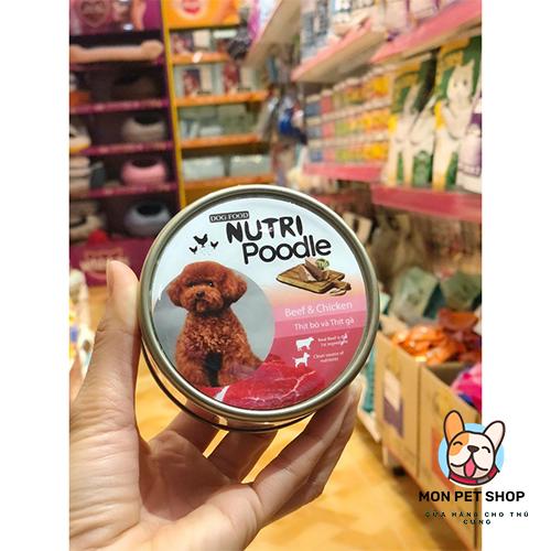 Pate Nutri Poodle Dinh Dưỡng Cho Chó Poodle