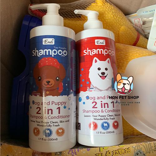 Sữa Tắm cao cấp cho chó Endi Shampoo 500ml