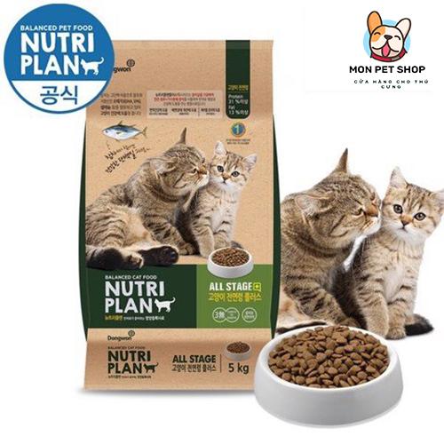 Thức ăn hạt cho mèo mọi lứa tuổi Nutri Plan
