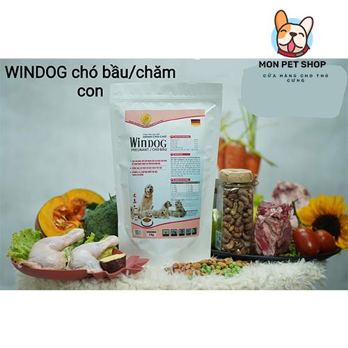 Thức ăn hạt dành cho các loại chó Windog