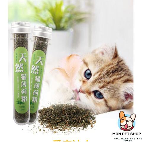 Cỏ Mèo Hương Bạc Hà Catnip Cho Mèo Cưng
