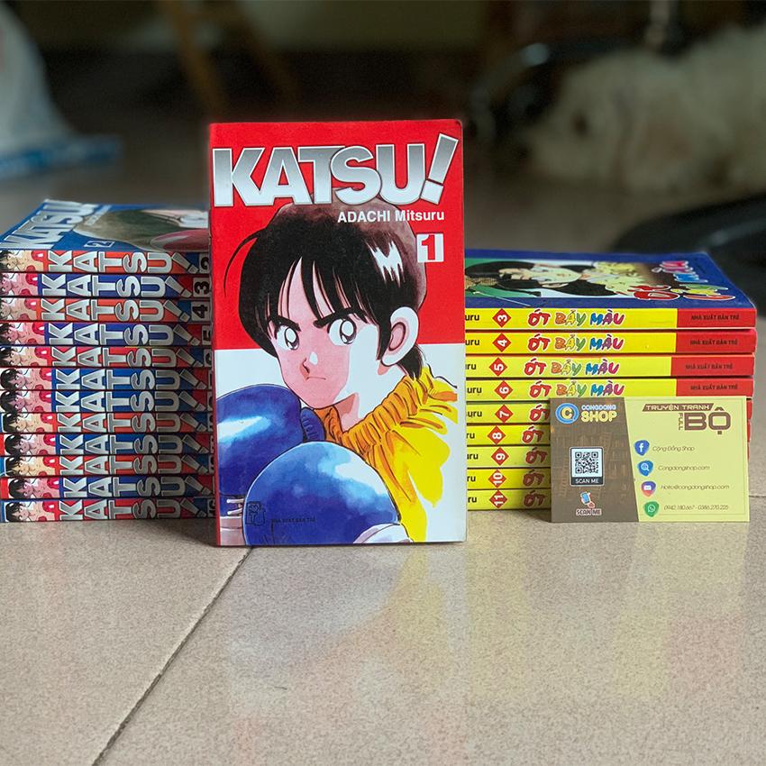 Lô Lẻ Truyện Katsu và Ớt Bảy Màu Adachi Mitsuru